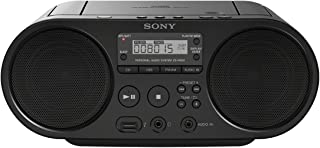 Sony ZSP-S50B Lecteur CD/MP3, USB, Radio – Noir