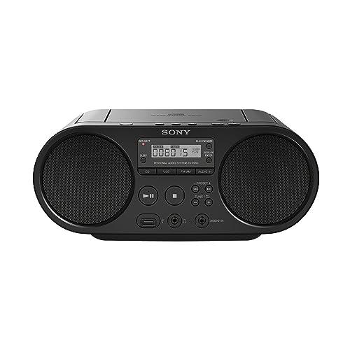 Sony ZSP-S50B Lecteur CD/MP3, USB, Radio - Noir