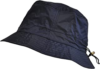TOUTACOO, Adjustable Waterproof Bucket Rain Hat in Nylon