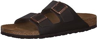 Birkenstock Arizona SFB Suede Womens Gunmetal Sandals