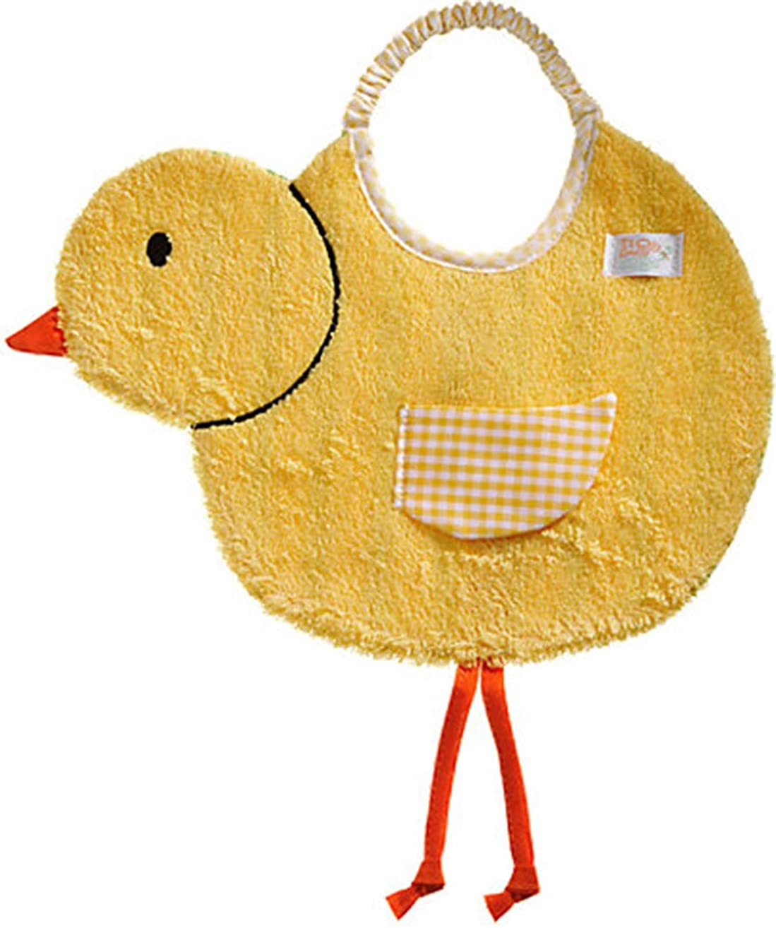 Zigozago - Baby Bib chick - Tie: Elastic - One Size