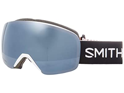 Smith Optics Skyline Goggle (Strike/Chromapop Sun Platinum Mirror) Snow Goggles