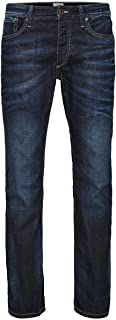 JACK & JONES Men's Regular Leg Jeans JJVCClark Original JOS 318 NOOS