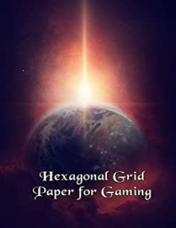 Hexagonal Grid Paper for Gaming: Create Your Own Gaming Fun!
