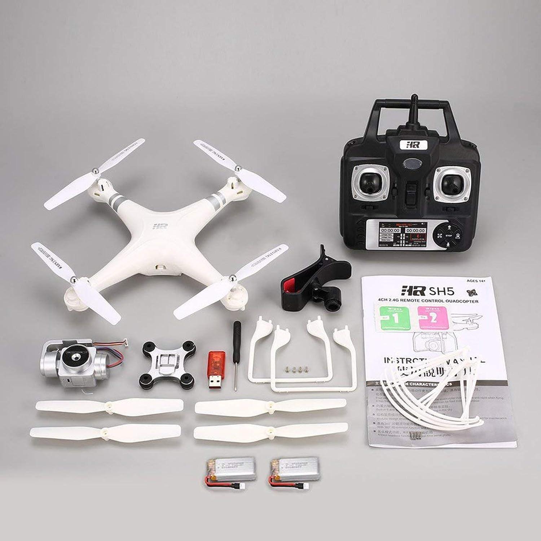 tienda en linea SH5HD 720P Ajustable Ajustable Ajustable HD WiFi Cámara FPV RC Drone Altitude Hold 2 baterías (blancoo)  artículos novedosos