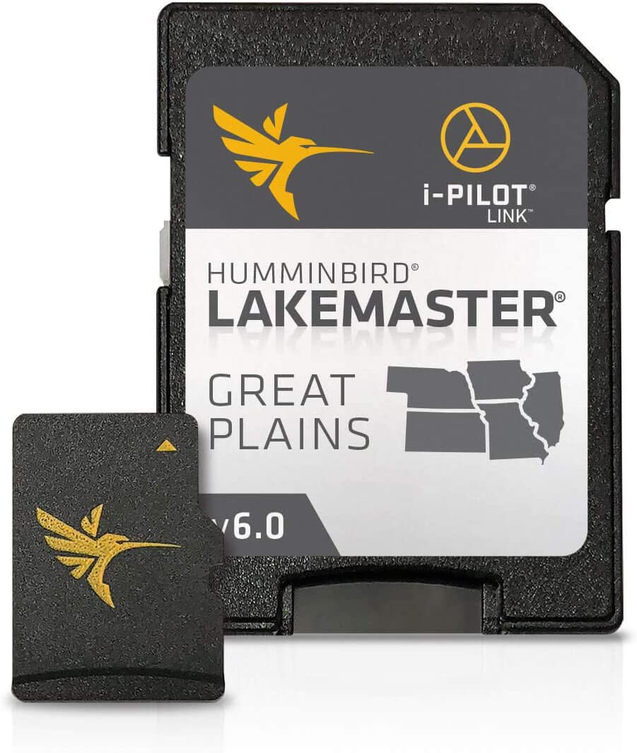 Humminbird 600036-2 SmartStrike Great Plains V2 Digital GPS Maps Micro Card