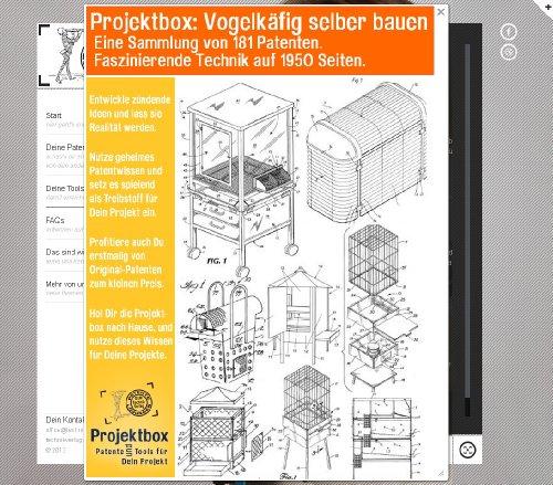 Vogelkäfig selber bauen: Deine Projektbox inkl. 181 Original-Patenten bringt Dich mit Spaß ans Ziel!