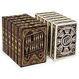 12 Decks Blind Tiger and Beers & Bluffs Card Decks (6/6 Split) | 310gsm Black Core Cardstock, Plastic-coated, Standard Index Poker Size | Casino-style Custom Decks for Poker, Blackjack, and Card Games