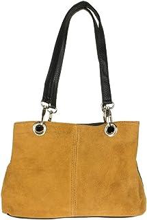Girly Handbags La bolsa de gamuza italiana hombro
