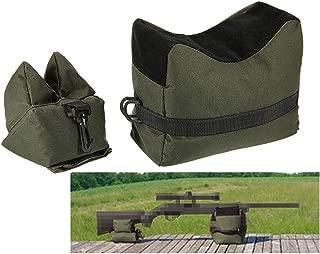 LIVIQILY Tactical Shooting Gun Front Rear Support Bag Outdoor Hunting Sandbag Bench Sniper Rifle Gun Support Package
