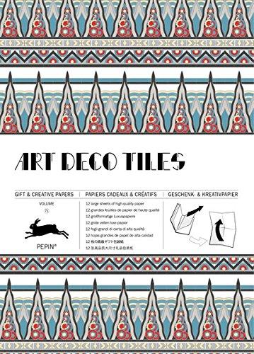 Art Deco Tiles: Gift & Creative Paper Book Vol. 71 (Gift & Creative Paper Books)