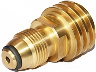 DOZYANT Propane Tank Adapter Converts POL LP Tank Service Valve to QCC1/Type1 Hose or Regualtor - Old to New