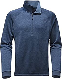 The North Face Men Norris Point 1 4 Zip Sweater - Shady Blue Heather badcdc133