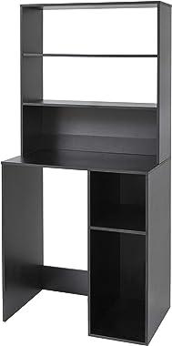 Yak About It Mini Fridge Dorm Station with Top Shelf - Black