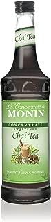 Monin Chai Tea Concentrate, 33.8-Ounce Plastic Bottle (1 liter)
