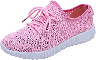 Women Outdoor Breathable Mesh Shoes Casual Lace Up Comfortable Soles Running Shoes Lightweight Slip On Sneakers