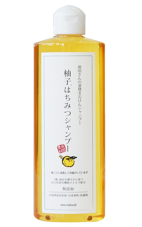 四リストピーブネオナチュラル 柚子はちみつシャンプー 300ml
