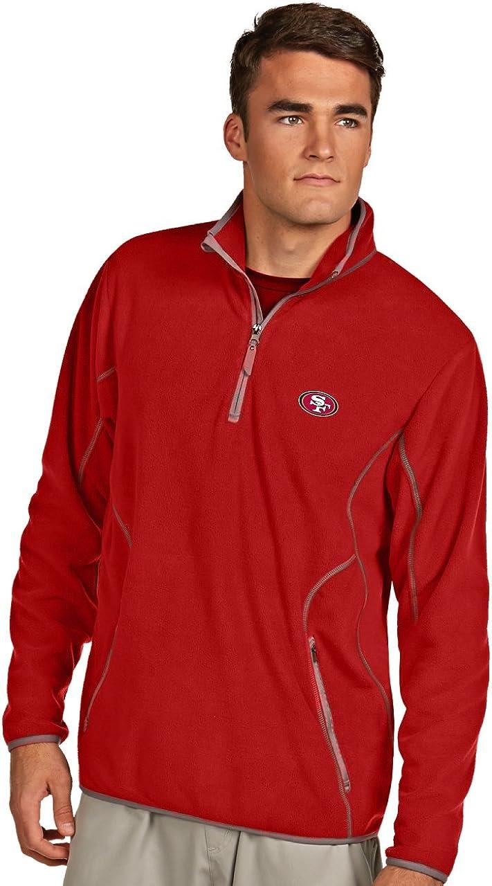 NFL San Francisco 49ers Men's Direct sale of manufacturer Ice Pullover X-La Dark Red Max 68% OFF Steel