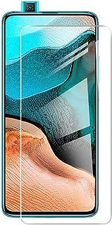 [2 Packs] Xiaomi Poco F2 Pro Screen Protector, Xiaomi Poco F2 Pro Tempered Glass Screen Protector, HD Clear Screen Guard f...