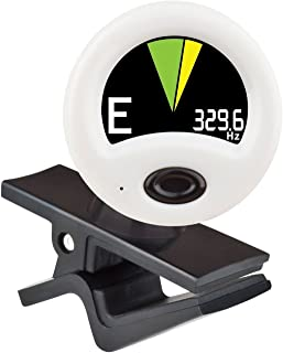 Snark New HZ1 HZ-1 Unbreakable Clamp Clip-on Guitar Tuner with Hertz Tuning - Newest Version