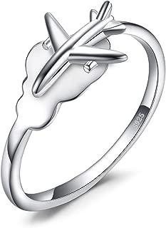 airplane ring jewelry