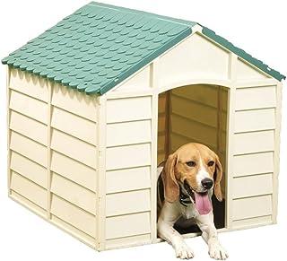 Vigor-Blinky - Caseta para perros,  Beige, 71 x 71 x 68 cm