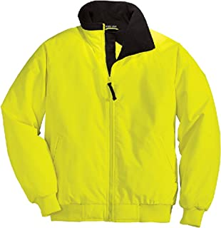 Joe's USA - Enhanced Visibility Work Jackets in Safety Orange and Yellow: XS-6XL