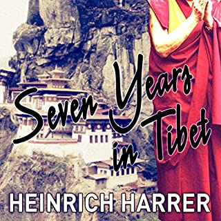 Seven Years in Tibet cover art