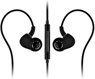 SoundMAGIC PL30+C Active Sport In-Ear Headphones with Microphone and Volume Control (Black)