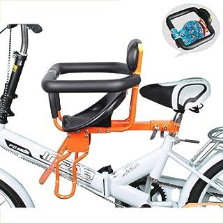 Silla De Niño De Bicicleta Asientos Seguros Frente Plegable Desmontaje Niños Asiento con Cinturón