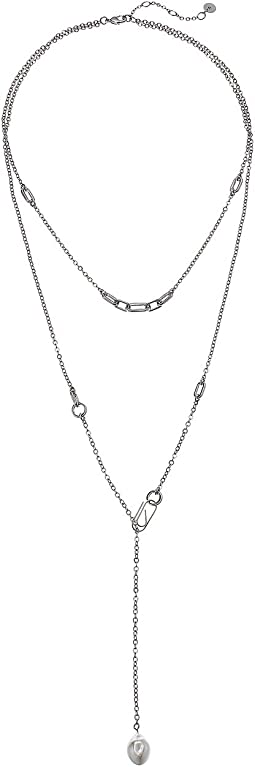 Layered Link Necklace 17""