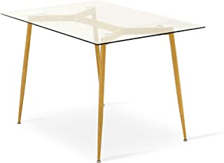 Best glass top dining table price hyderabad Reviews