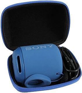 ソニー Sony SRS-XB10/SRS-XB12ワイヤレスポータブルスピーカー 重低音モデル 専用収納ケース-Hermitshell (ブルー)