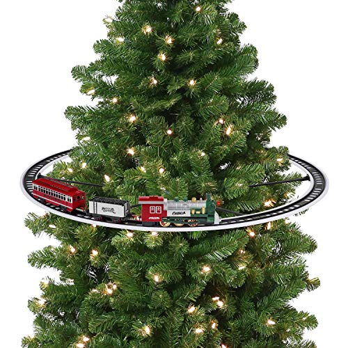 Mr. Christmas Oversized Animated Train Around The Tree Holiday Decoration, One Size, Multi