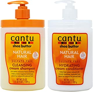 CANTU Shea Butter Best Seller Shampoo+Conditioner 25oz Set, Limited Edition (limited Edition)