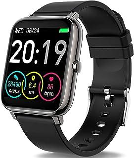 """Motast Smartwatch, Relojes Inteligentes Hombre Pantalla TFT de 1,4"""", Pulsera Actividad con Monitor de Sueño Contador, Puls..."""