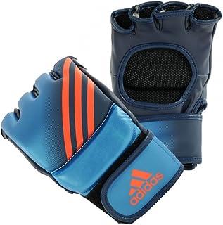 adidas Speed Pro MMA Fight Gloves - Medium - Metallic Blue/Collegiate