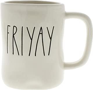 Rae Dunn by Magenta FRIYAY Ceramic LL Coffee Mug