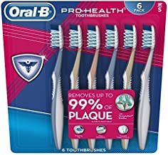 Oral-B Pro Health All In One Soft Toothbrushes, 6 Count