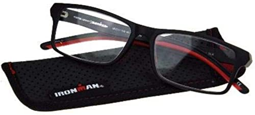 discount Foster discount Grant Ironman Readers with Flexible Temple, lowest Red/Black, 1.75 outlet online sale