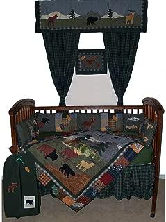 Patch Magic Northwoods Walk Crib Bedding