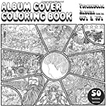 Album Cover Coloring Book