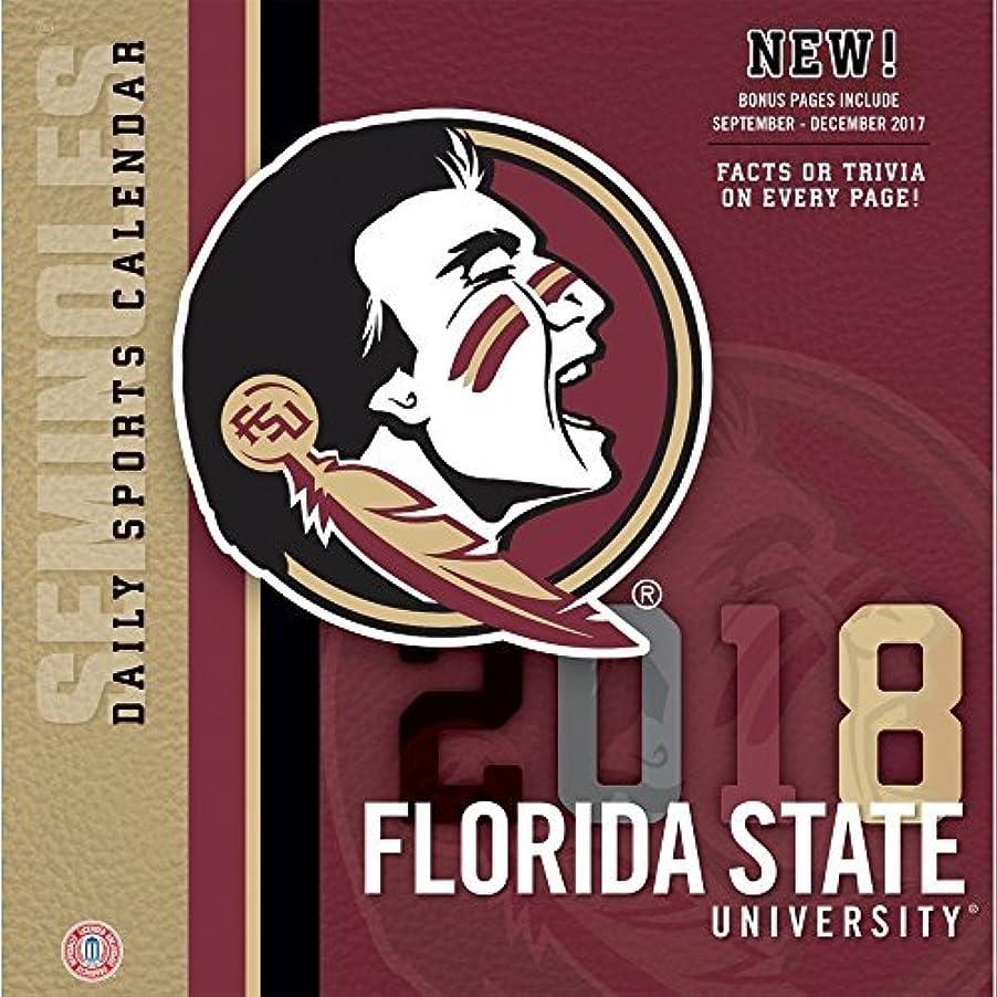 値するスタジオ飼いならす2018 Florida State Seminoles Desk Calendar [並行輸入品]