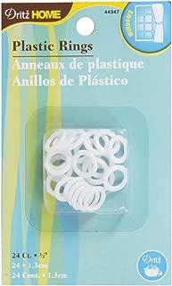 Best roman blind plastic ring clips Reviews