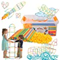 ZoZoplay Straw Constructor STEM Building Toys 400 Piece Straws and Connectors Building Sets Colorful Motor Skills Interlocking Plastic Engineering Toys Best Educational Toys Boy & Girl… by ZoZoplay