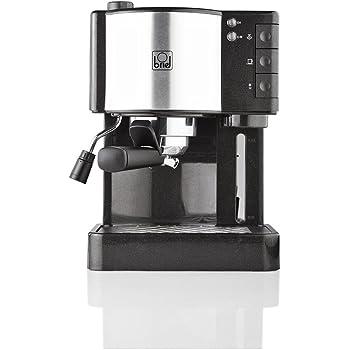 Briel Es 14 Black Cafetera espresso, 1260 W, Plástico, Negro: Amazon.es: Hogar