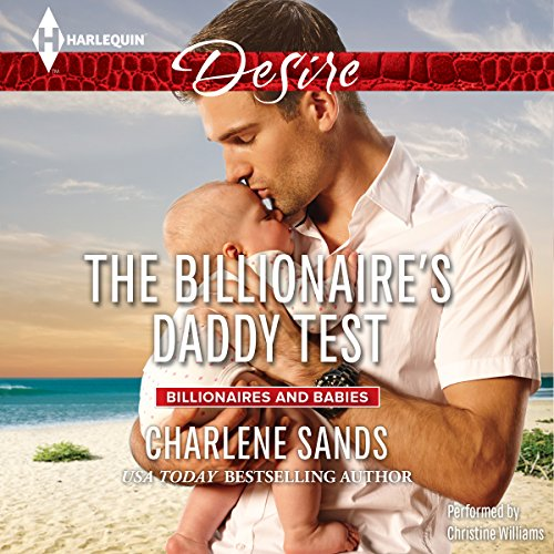 The Billionaire's Daddy Test audiobook cover art