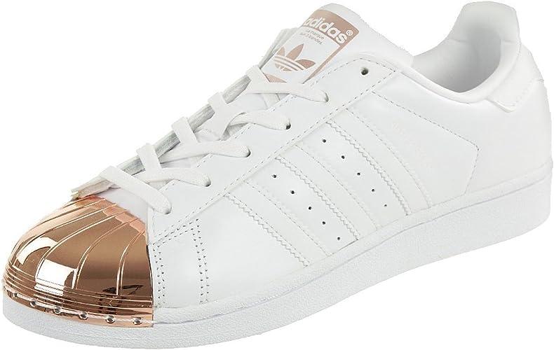 adidas Superstar Metal Toe, Sneakers Basses Femme : Amazon.fr ...