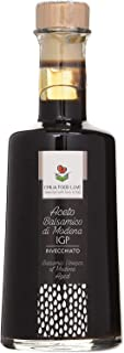 Balsamic Vinegar of Modena Aged PGI 250 ML - Made in Italy - EMILIA FOOD LOVE Selected with Love in Italy - Aceto Balsamic...