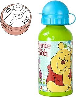 JoyToy Botella de Aluminio Woodland | 400 ml | Winnie The Pooh | Niños Cantimplora